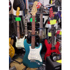 RICHWOOD strat Green/Blue Sparkle
